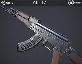 AK-47 3D model VR / AR ready PBR
