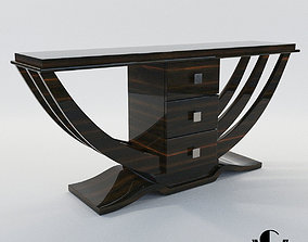 3D Console - Art Deco style - Design from Cygal Art Deco