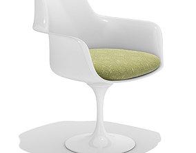 3D Knoll Tulip armchair