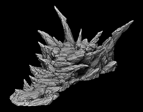 3D print model Sharp Rock Base for Collectible Figures and