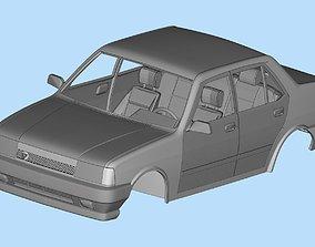 3d printable car Turkish Tofas Sahin Regata Fiat stl