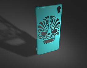 Skull Style Phone Case for Sony Z2 3D print model