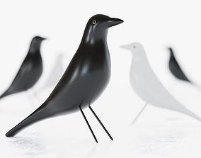 Eames House Bird Figurine 3D