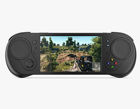 3D Gamepad Controller and Screen