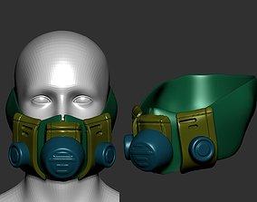 retro urinal helmet high poly sculpt 3d printable