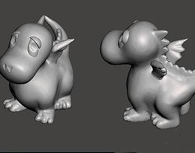 3D print model Sweet funny baby Dragon