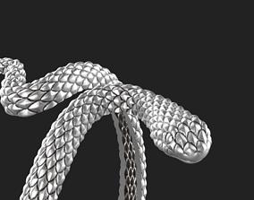 3D printable model Snake ring gold-ring
