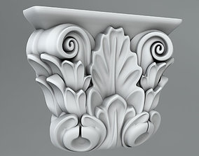 3D Pilaster Capitals element