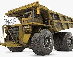 Generic Dump Truck 3D model