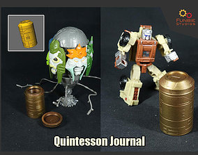 3D printable model Quintesson Journal from Transformers G1