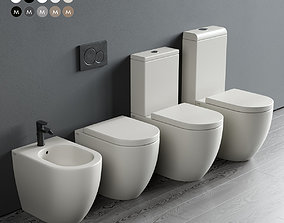 Ceramica Cielo Smile WC 3D model