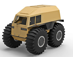 Cross country vehicle 3D