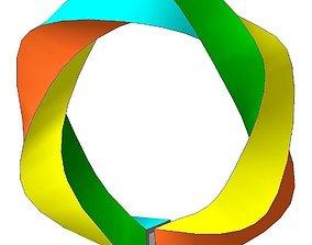 jewellery 3D print model Bracelet