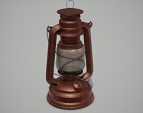 Old Lantern 3D model game-ready