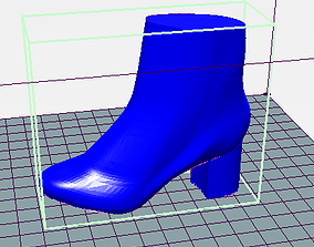 3D model Bottines femme Sezane