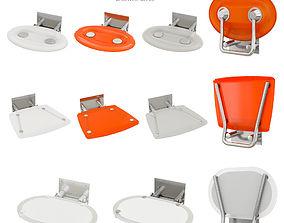Shower Seats Ravak OVO 3D