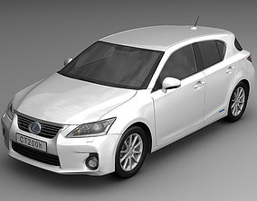 3D Lexus CT 200h 2011
