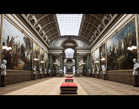 Versailles Palace Photorealistic UE4 Archviz 3D model