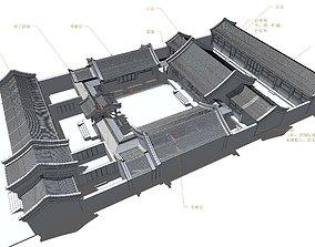 siheyuan 3D model