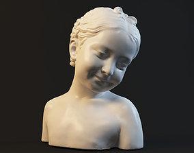 3D printable model Girl statue