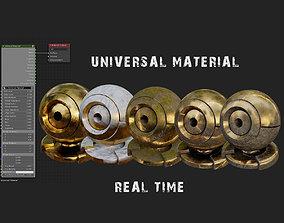 3D model Universal Material Creator