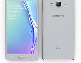 3D Samsung Z3 Silver