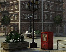 Modern City 3D asset