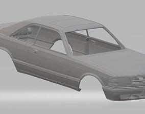 Mercedes 560 sec Printable Body Car mercedes