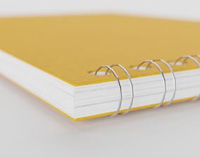 Notebook 3D asset game-ready PBR