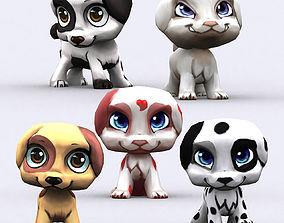 animated realtime 3DRT - Chibii Puppy