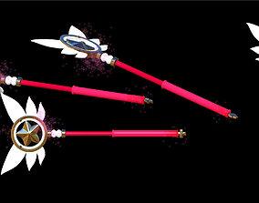 Fate - Magical Ruby wand 3D printable model