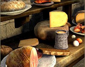 3D model low-poly Good Food