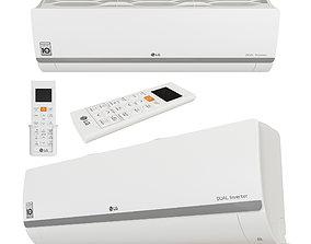 3D model LG - P12SP Mega DUAL Inverter