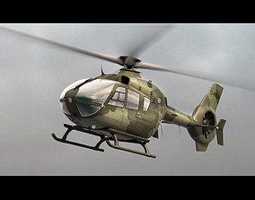 Eurocopter EC 135 Military Green 3D