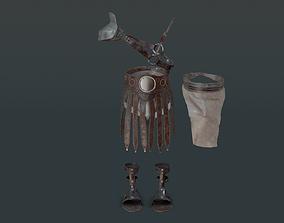 Leather armor 3D