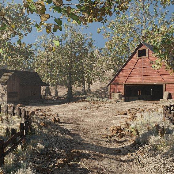 Barn Scene   Scene 59