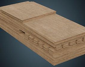 Wooden Sheets 1A 3D model