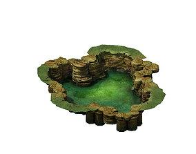 Game Model - Cliff 02 3D