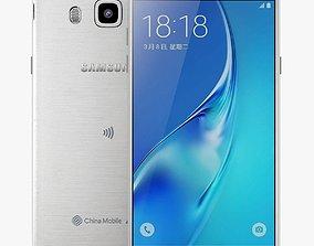 Samsung Galaxy J5 2016 White 3D