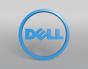 DELL Logo 01 3D model