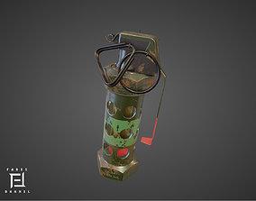 explosive M84 Flashbang 3D model