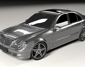 Mercedes W211 3D model