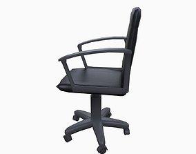 reception-desk Office chair 3D asset low-poly