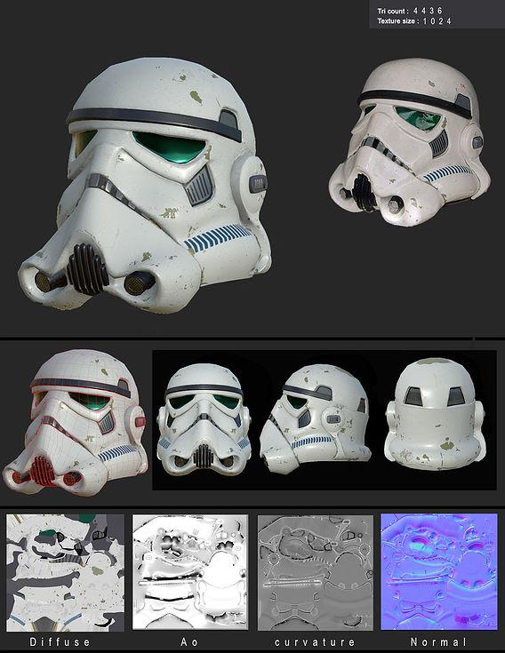 starwars startrooper helmet