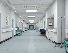 3D Hospital Hallway 3 MAX