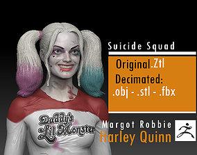 3D print model Margot Robbie - Harley Quinn - Suicide