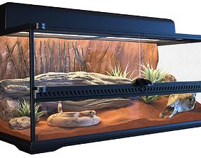 3D Terrarium Exo-Terra for the snake