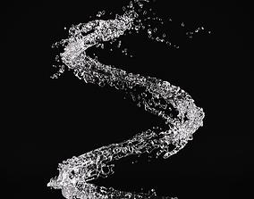 Water Splash 01 3D