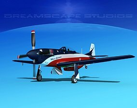 3D model P-51 Mustang Sport Miss America