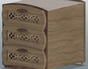 Wooden Shelf Design 3D print model